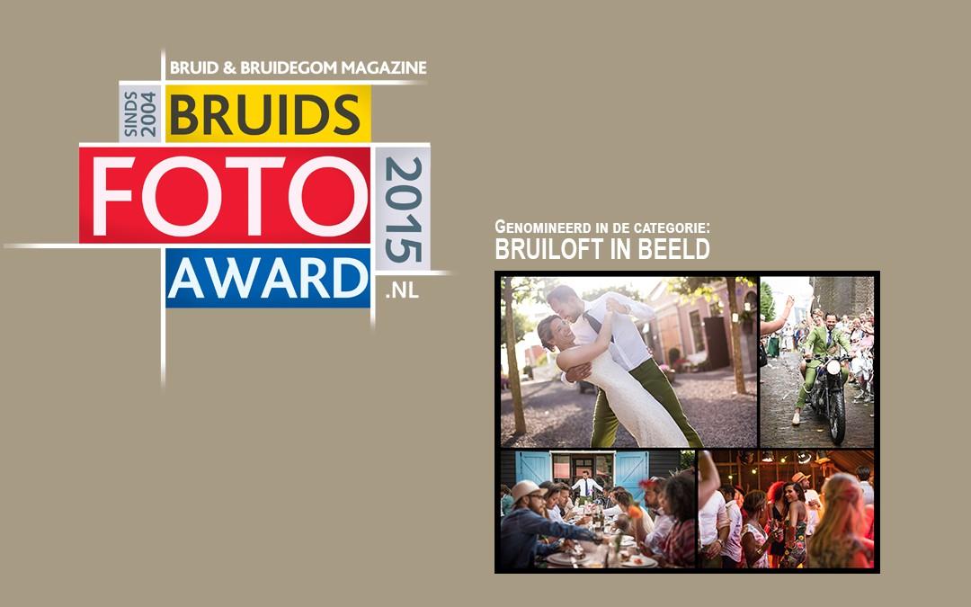 Genomineerd Bruidsfoto awards 2015!
